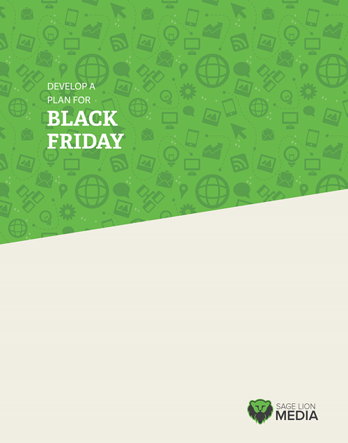 Develop A Plan for Black Friday, Sage Lion Media