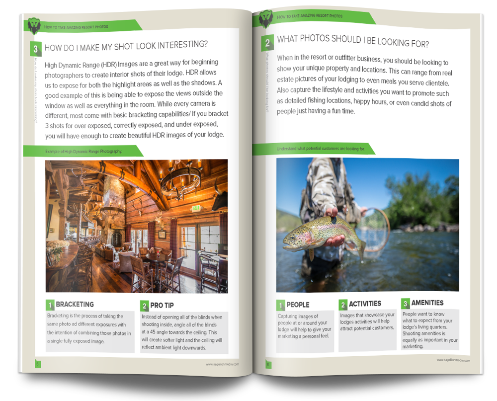 take better resort photography ebook guide